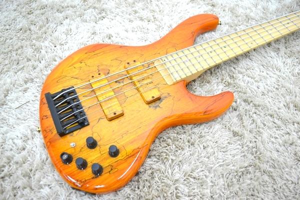 Bossa ボッサ 5弦エレキベース アクティブPU OBJ-5 JAZZ